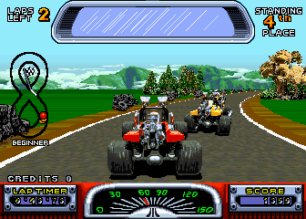 Road Riot 4WD screenshot