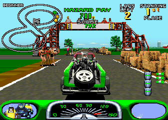 Road Riot's Revenge Rally screenshot
