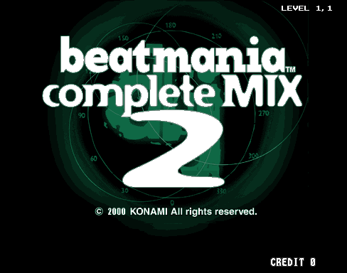 beatmania complete MIX 2 screenshot