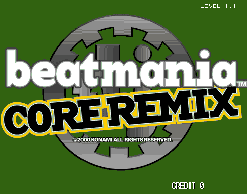 beatmania CORE REMIX screenshot