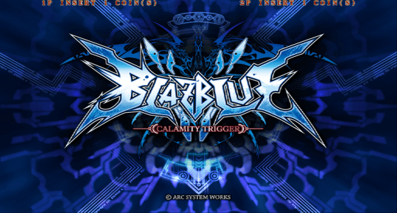 BlazBlue Calamity Trigger screenshot