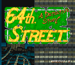 64th. Street - A Detective Story screenshot