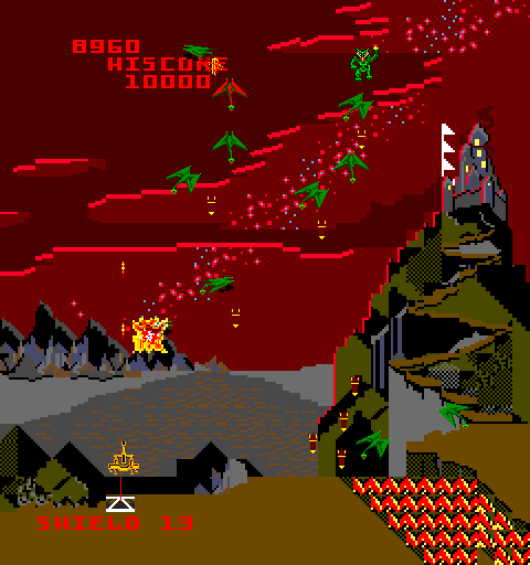 Satan's Hollow Arcade Video Game By Bally Midway Mfg. (1981