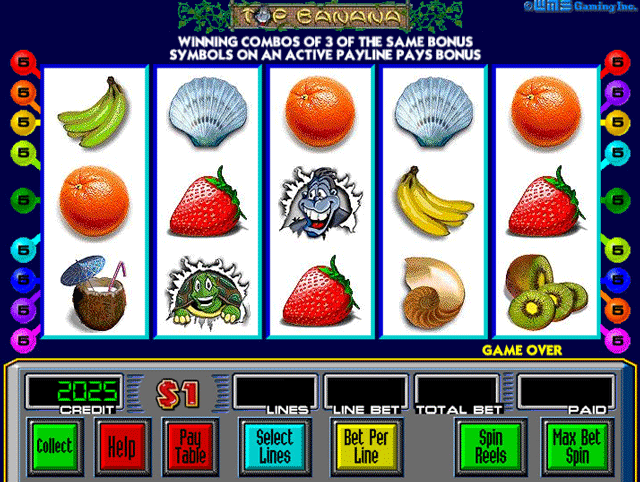 Top Banana Slot Machine