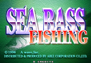 Sea Bass Fishing [Model 610-0374-85] screenshot