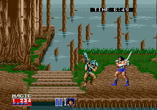 Golden Axe II [Model 02] screenshot
