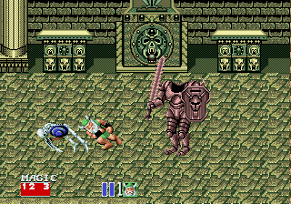 Golden Axe II [Model 57] screenshot