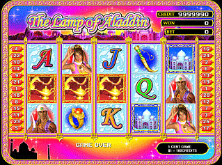 The Lamp of Aladdin screenshot