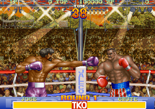 Best Bout Boxing arcade video game by Jaleco (1994)