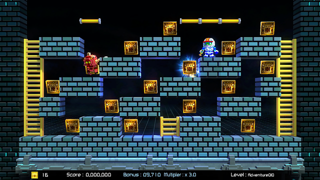 Lode Runner Legacy screenshot