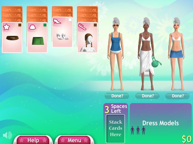 Fashion Solitaire 2 screenshot