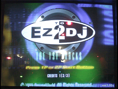 Ez2Dj The 1st Tracks screenshot