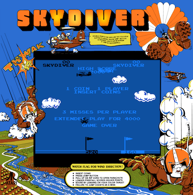 Skydiver screenshot