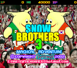 Snow Brothers 3 - Magical Adventure screenshot
