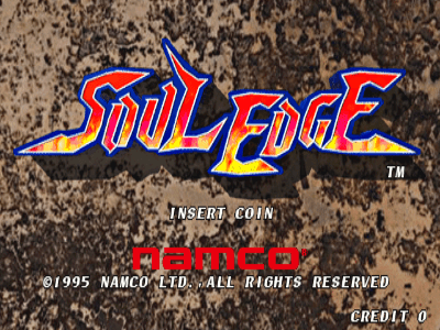 Soul Edge screenshot