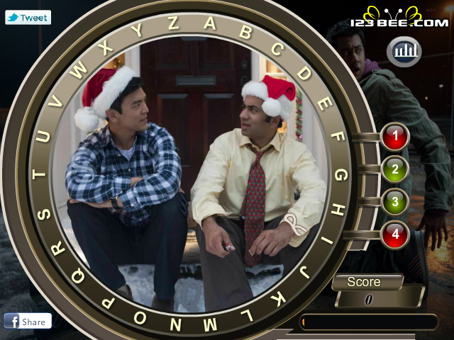 A Very Harold and Kumar Christmas - Find the Alphabets screenshot