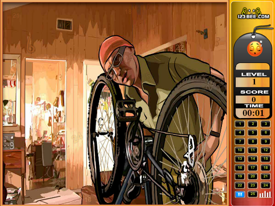 A Scanner Darkly - Find the Numbers screenshot