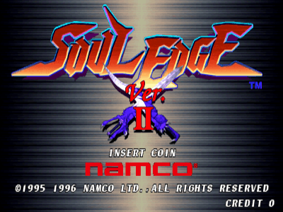 Soul Edge Ver. II screenshot