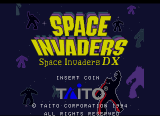 Space Invaders DX screenshot