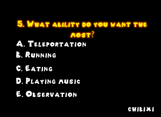 FNAF Personality Quiz screenshot