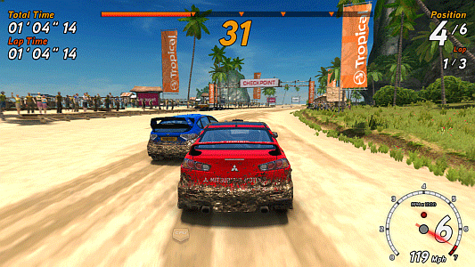 SR3 - Sega Rally 3 screenshot