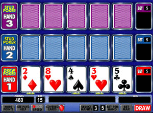 Ace Invaders - Bonus Poker screenshot
