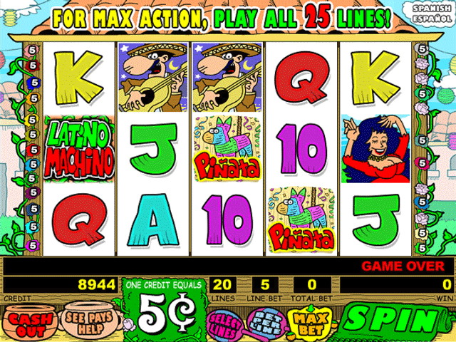 Latino Machino [Video Slot] screenshot