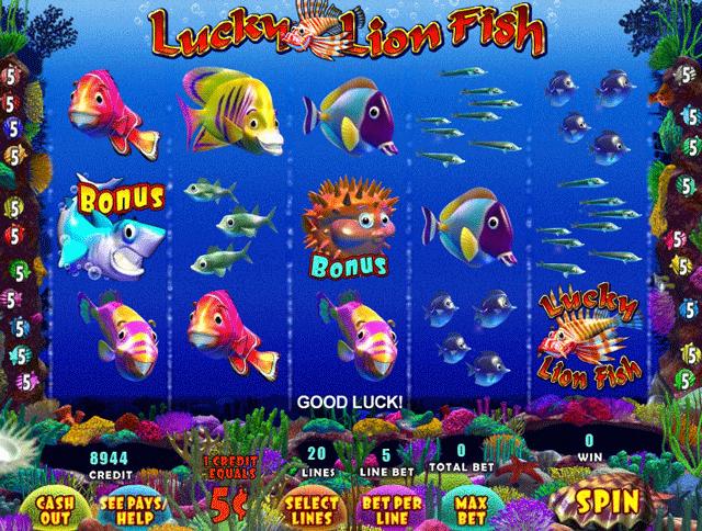 fishing slots game