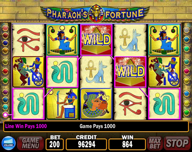 Pharaoh's Fortune [Video Slot] screenshot