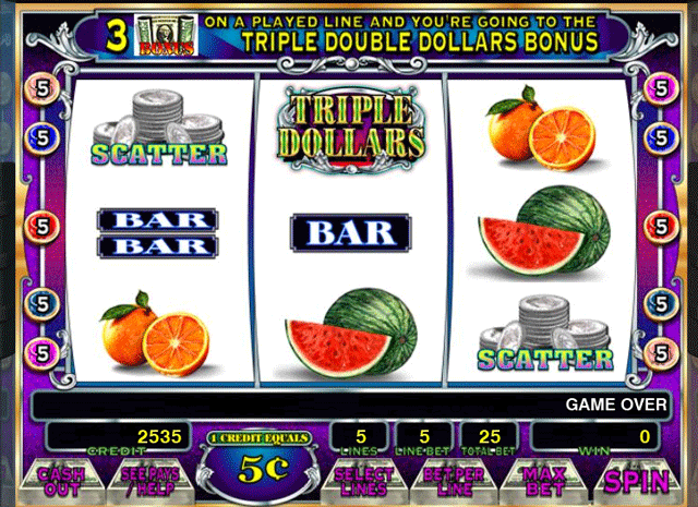 Triple Double Dollars [Video Slot] screenshot