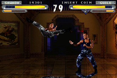 Street Fighter The Movie Arcade Video Game By Incredible