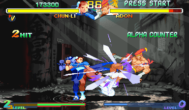 Street Fighter Alpha 2 [Blue Board] screenshot
