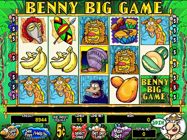 Benny Big Game screenshot