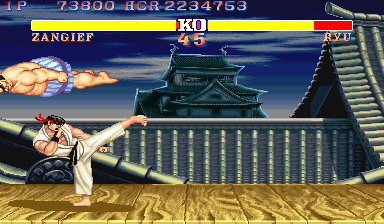 Street Fighter II' - Champion Edition [Red Wave] screenshot