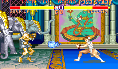 Street Fighter II' - Hyper Fighting [B-Board 91635B-2] screenshot