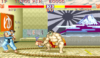 Street Fighter II' Turbo - Hyper Fighting [B-Board 91634B-2] screenshot