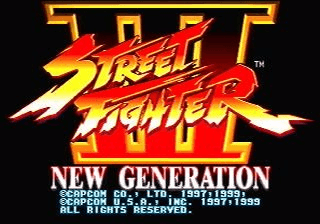 Street Fighter III - New Generation screenshot