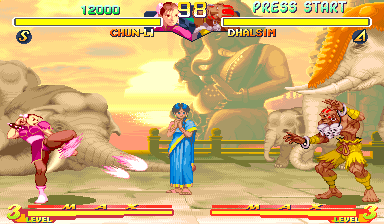 Street Fighter Zero 2 [Green Board] screenshot