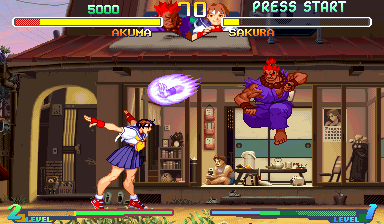 Street Fighter Zero 2 Alpha screenshot