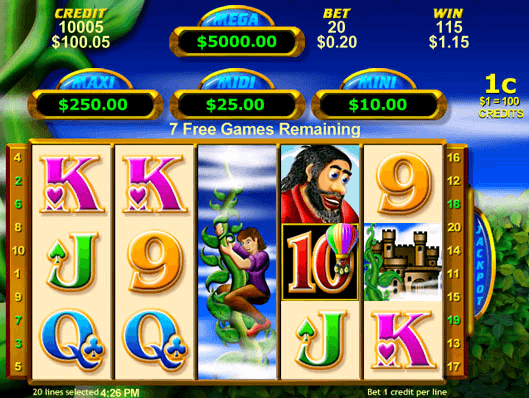 Free Money Beans Pokie Game