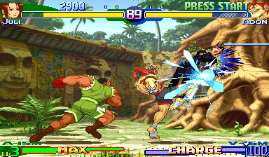 Street Fighter Zero 3 [Green Board] screenshot
