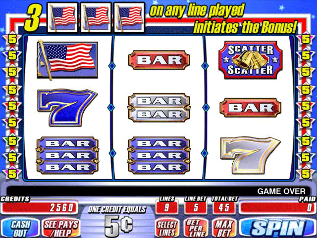 Red White & Blue [Video Slot] screenshot