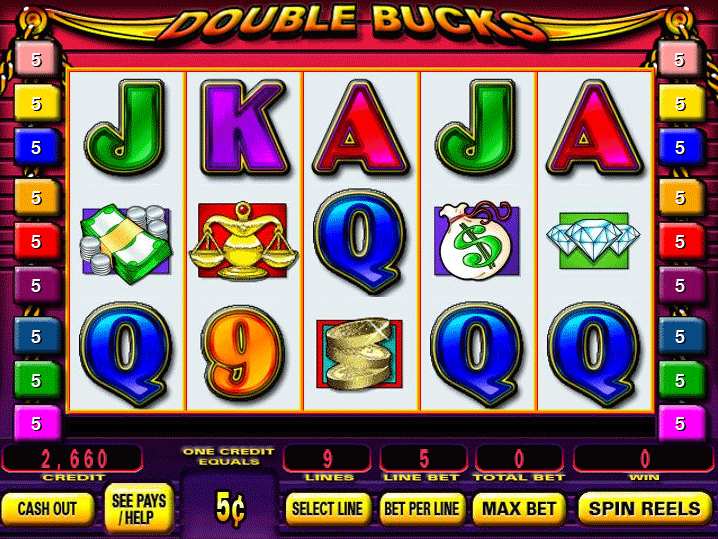 double bucks slot machine