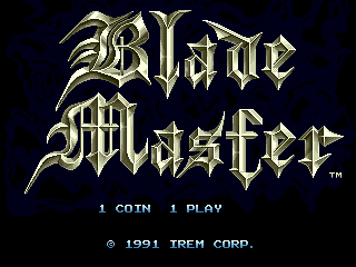 Blade Master screenshot