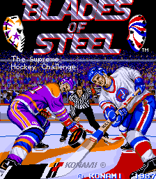 Blades of Steel - The Supreme Hockey Challenge [Model GX797] screenshot