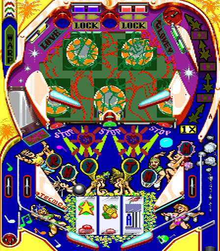 Super Pinball Action screenshot