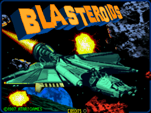 Blasteroids screenshot