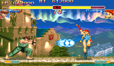 Super Street Fighter II Turbo [Blue Board] screenshot