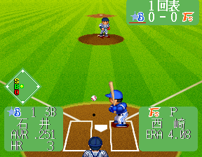 Super World Stadium '95 screenshot