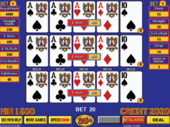 Wheel Poker Deluxe screenshot